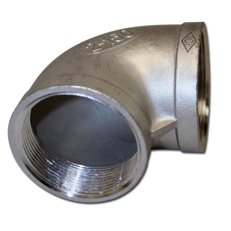 ELBOW 2″ 304SS 90 degree 150lb female pipe NPT