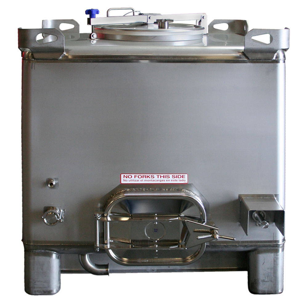 Stainless Fermentation IBC Tote