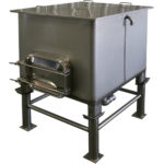 Stainless Open Top IBC Tote